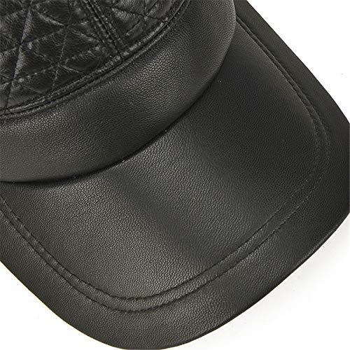 Hombres para béisbol Primavera Sombreros de al de Hombre incorporados otoño de Libre oído Sombreros de Aire qin y Gorras GLLH Protectores hat cálidos Sombreros qAzqv