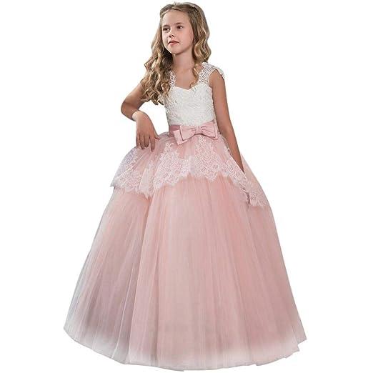 Amazon Com Moonker Girls Princess Dress 7 11 Years Old Children