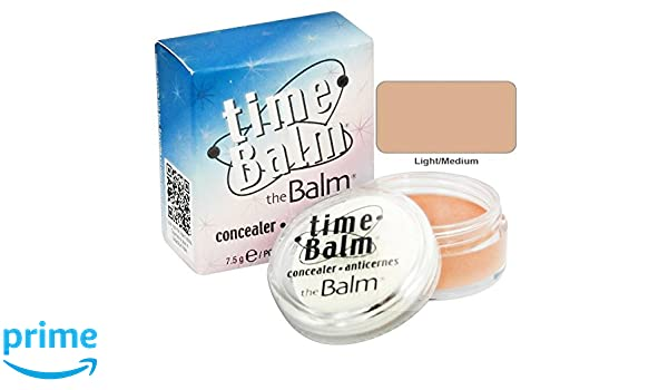 Amazon.com : the Balm Timebalm Concealer - Light/medium Concealer : Lip Care Products : Beauty