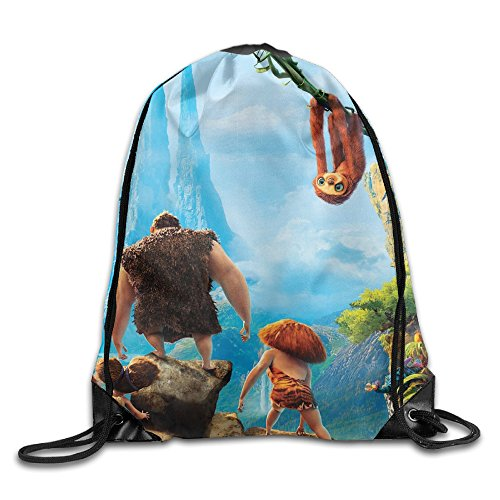 The Croods Family Drawstring Backpack Sack (Ugga Crood Costume)