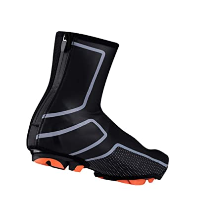 1 Pair Unisex Waterproof Bike Overshoes Windproof Shoe Cover Winter Warm S~2XL