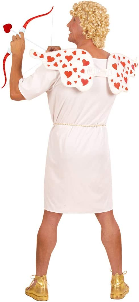 NET TOYS Original Disfraz de Cupido para Caballero   Blanco-Rojo ...