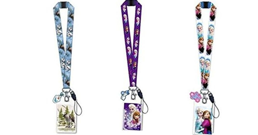 Amazon.com: Disney Frozen Lanyard Llavero Estilo con ID ...