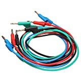 4pcs 1M 4mm Banana to Banana Plug Soft Silicone Test Cable Lead - Best Reviews Guide