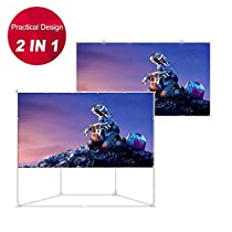 Houzetek Projector Screen with Stand