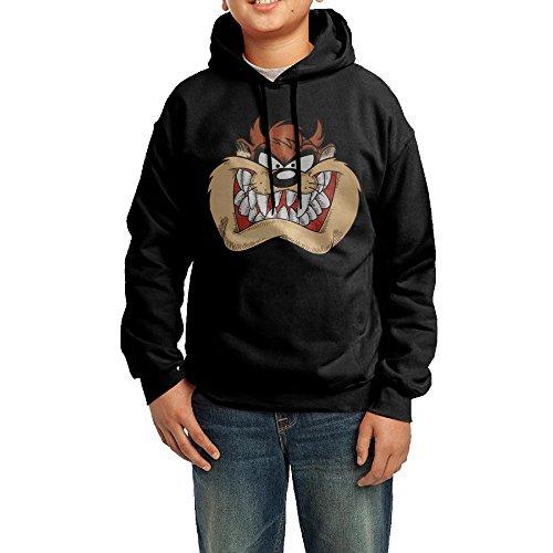 Tazmanian Devil Cartoon Boys/Girls Classic Pullover Athletic Sweatshirt Hoodies