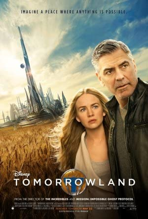 """Tomorrowland Movie Poster 24 x 36"""" Inches, Glossy ..."""