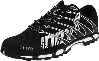 Inov-8 Men's F-Lite 195 Lightweight Racing Shoe,Black/White,5 Men's/6.5 Women's M US