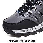 Rokiemen Chaussures de Randonnée Hautes Homme Antidérapantes Extérieure Imperméable Bottes de Marche Trekking Escalade… 9