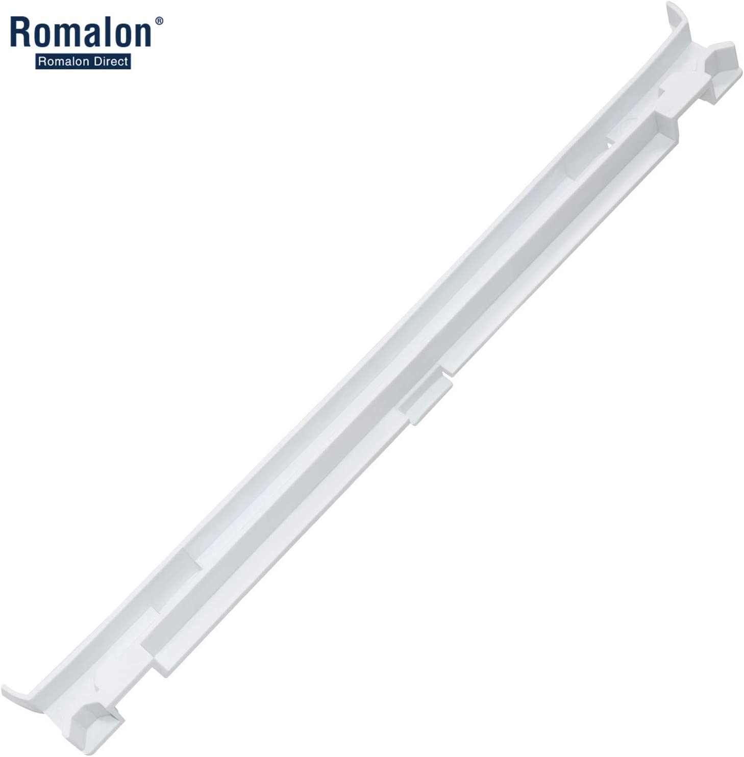 Romalon WP2223320 Refrigerator Drawer Slide Rail for Whirlpool 2223320 Pan Slide Replacement Part exactly fit for GD5R, GD5S, GD5Y, Kenmore 10655216400