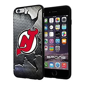 New Jersey Devils Crack Iron #2017 iphone 4s) I+ Case Protection Scratch Proof Soft Case Cover Protector
