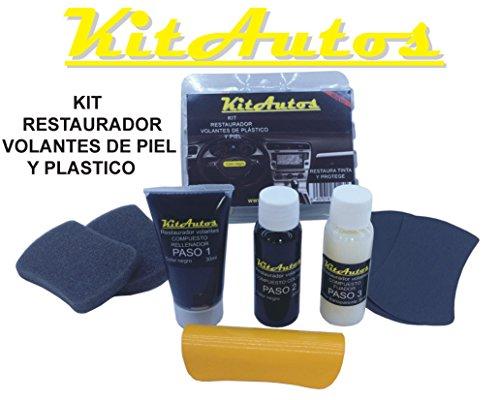 Kit de restauration de volants en plastique et cuir noir
