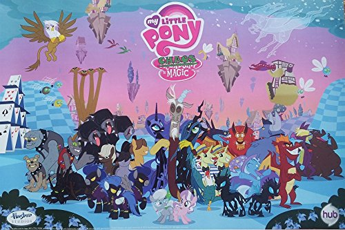Run Fashion My Little Pony Friendship Is Magic Art Silk Wall