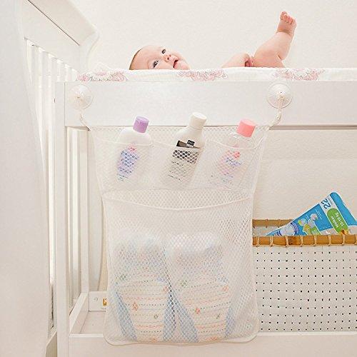 bath baby toy organizer bathroom tub storage mesh bag 4 bonus suction cups hook bath tub toy. Black Bedroom Furniture Sets. Home Design Ideas
