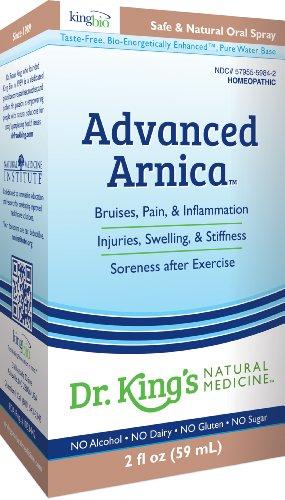 Médecine Naturelle avancée Arnica du Dr King, 2 once liquide