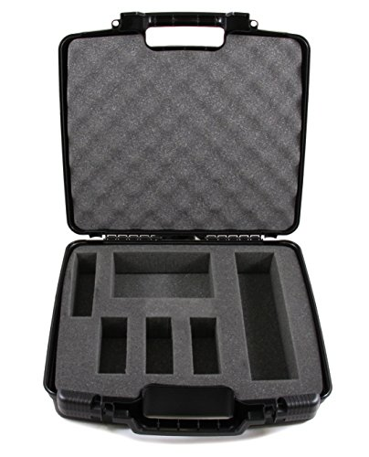 CASEMATIX Quadcopter Case for Parrot Anafi 4k HDR Drone, Skycontroller 3, Parrot Anafi 4k Drone Battery, Drone Propellers and Charge Cable - Made in The USA by CASEMATIX
