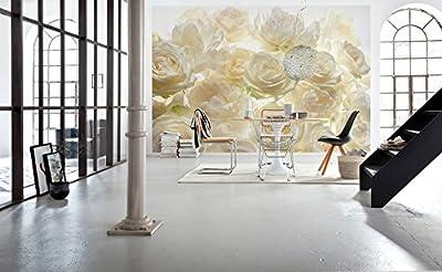 Komar XXL4-007 Ivory Rose Wall Mural