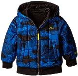 Pacific Trail Big Boys' Fleece Reversible Puffer Full-Zip Jacket