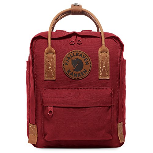 Fjallraven - Kanken No. 2 Mini Backpack for Everyday Use and Travel, Deep Red (Best Backpack For Everyday Use)