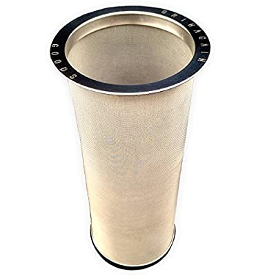 Cold Brew Coffee Maker Loose Leaf Iced Tea Infuser Stainless Steel Reusable Strainer for Regular Mouth Mason Canning Jars