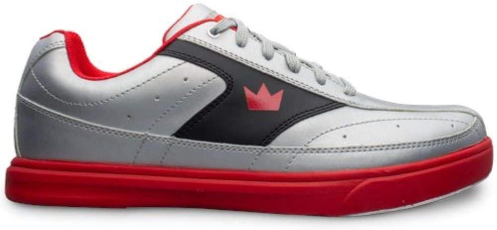 Brunswick Renegade Flash Silver//Red Mens Size 6.5