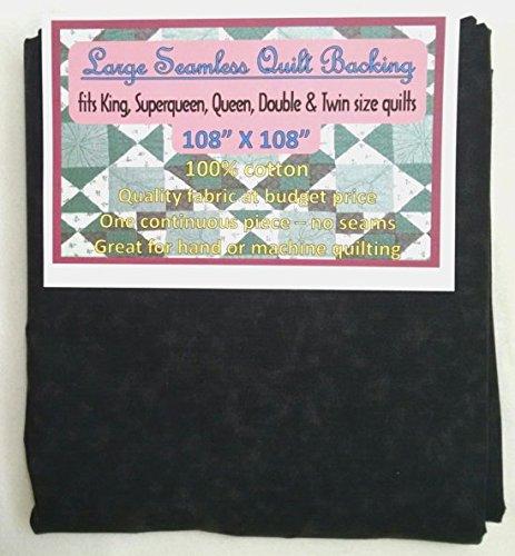 Quilt Backing, Large, Seamless, C44395-805, Black/Dark Gray Quilt Backing - Choice QUILT BACKING FABRIC
