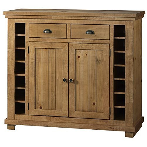 Progressive Furniture Willow Server, Distressed Pine