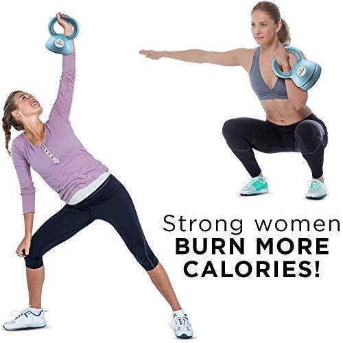 Empower Weight Set for Women, Kettlebells 5 8 12 lbs, Set