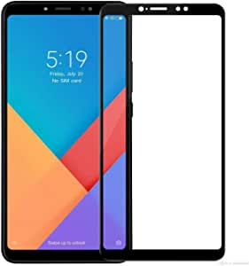 Tembered Glass Screen Protector For Xiaomi Mi Max 3 / 5D - Black