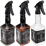 3pcs Empty Plastic Spray Bottle 150ml Hair Salon Barber Shop Spray Bottle Oil Sprayer Water Sprayer Bottle in Clear…