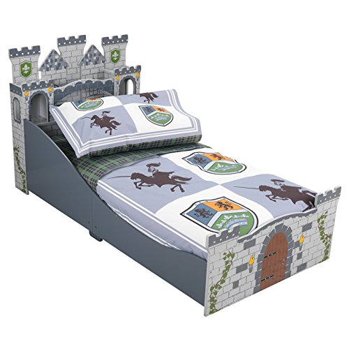Kid Kraft Knights & Shields Toddler Bedding.