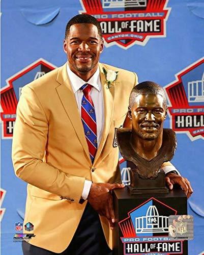 16x20 Hall Of Fame Photo - Michael Strahan New York Giants Hall of Fame Photo (Size: 16