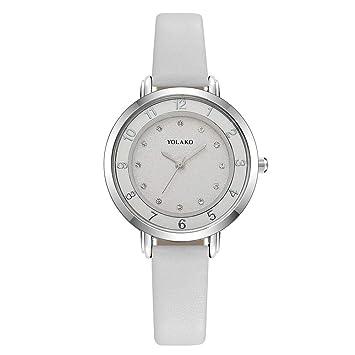 Relojes de Cuarzo para Dama, Javpoo Numeral Liquidación analógica Reloj de señora Relojes de señora