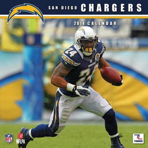 San Diego Chargers 2014 (San Diego Chargers Calendar)