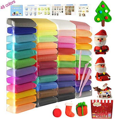 Modeling Clay 48 Colors