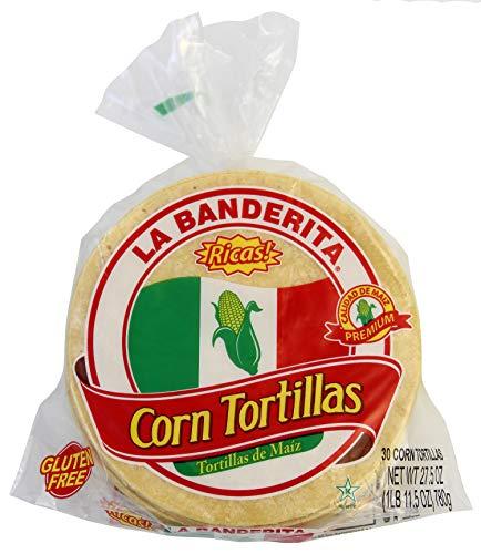 - La Banderita Yellow Corn Tortillas | 5.5