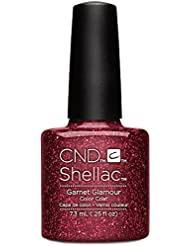 CND Shellac Nail Polish, Garnet Glamour, 0.25 fl. oz.