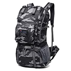 FeaturesCapacity:  1.Front pocket with an internal mesh pouchBearing System:  2.Adjustable sternum strap  3.Breathable, molded foam back panel 4.S-shape shoulder strapsAttachment Point:  5.Both sides of the shoulder straps has a D-shape hook,...