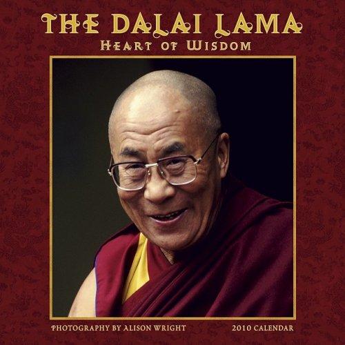 The Dalai Lama: Heart of Wisdom 2010 Wall Calendar ()