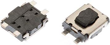 Myshopx Microtaster Taster 6 Stück Fernbedienung Schlüssel Fernbedienung Taster Micro Smd Taster Autoschlüssel Citroen Peugeot Mp08k Auto