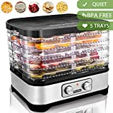 Best Beef Jerky Makers - Food Dehydrator Machine, Electric Food Dryer for Jerky Review