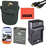 Starter Accessory Kit for Nikon Coolpix A900, AW120, P340, S9500, S9700 Digital Camera - Includes ENEL12 Battery & Charger + Deluxe Carrying Case + Micro HDMI + More!!