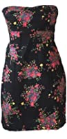 Free People Black Floral Dress Size 6