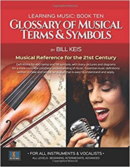 Glossary Of Musical Terms & Symbols: Musical Reference for the 21st