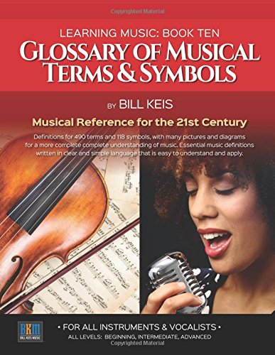 Download Glossary Of Musical Terms & Symbols: Musical Reference for the 21st Century (The Complete Guide To learning Music) (Volume 10) pdf epub