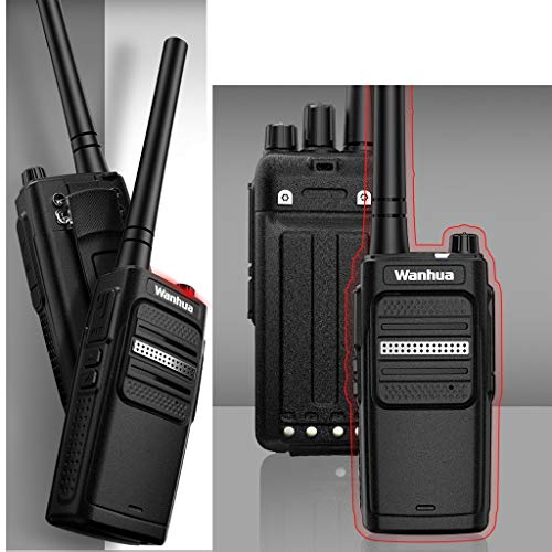 Nelc5kl Walkie Talkies Rechargeable Long Range Two-Way Radios with UHF 400-470Mhz Walkie Talkies 4800 mAh Li-ion Battery and Charger Included Radio (Size : E) by Nelc5kl (Image #2)