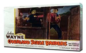 Poster - Overland Stage Raiders_05 - Pintura en lienzo