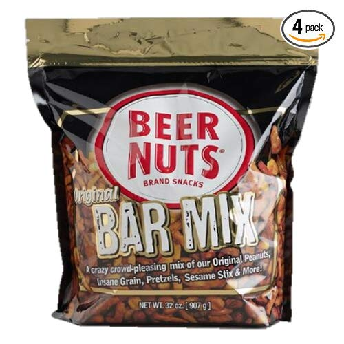 Beer Nuts Co. Original Bar Mix 32 oz each - Pack of 4 by BEER NUTS (Image #3)