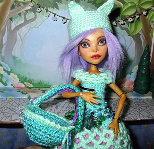 Monster High Remake DOLL ooak custom repaint crochet for sale  Delivered anywhere in USA