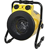 Royal Sovereign Heavy Duty Electric Portable Utility Heater, Yellow/Black